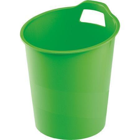 """Odpadkový koš """"Green2Desk"""", zelená, plastový, FELLOWES"""