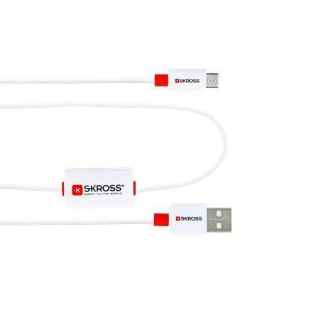 """USB kabel """"BUZZMICROUSBCABE"""", micro, BUZZ alarm, SKROSS"""