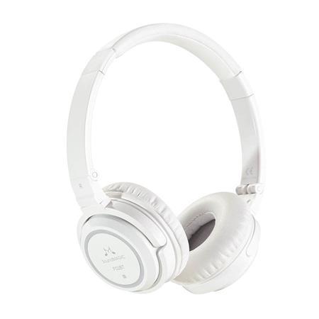 """Sluchátka """"P22BT"""", bílá, s mikrofonem, drátové/Bluetooth, SOUNDMAGIC"""
