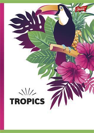 """Sešit """"Tropic"""", A4, linkovaný, 96 listů, UNIPAP"""