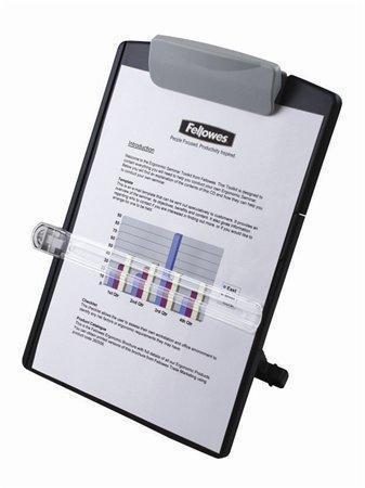 """Držák dokumentů, FELLOWES """"Standard"""", šedý"""