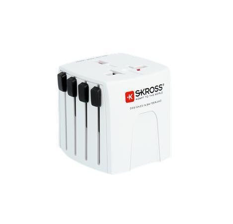"""Cestovní adaptér do celého světa """"MUVMICRO"""", micro USB, bez uzemnění, SKROSS"""