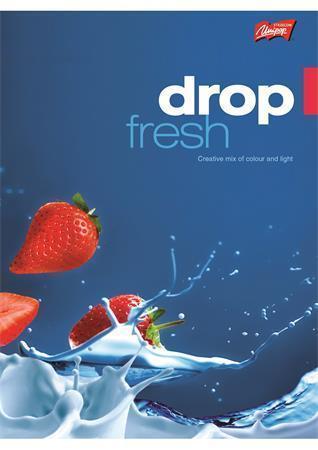 """Sešit """"Fresh Fruit"""", čtverečkovaný, A4, 96 listů, UNIPAP"""