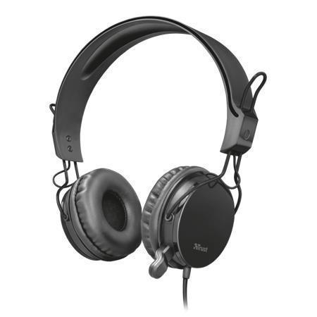 "Sluchátka  ""Muro"", s mikrofonem, kabelové, TRUST"