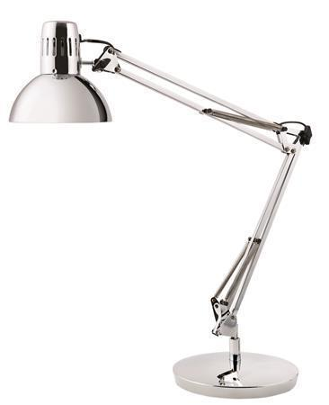 "Desk lamp, 11 W, ALBA ""Architect"", chrome"