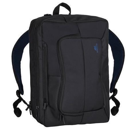 "Batoh a taška na notebook zároveň, ""Tegel 8490"", černá, 16"", RIVACASE"
