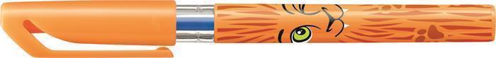 """Kuličkové pero """"Excel Mini Funnimals"""", různobarevné motivy, displej, s víčkem, 0,4 mm, modré, STABIL Počet kusů v balení: 50"""